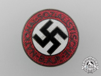 A NSDAP Party Badge by Karl Wurster