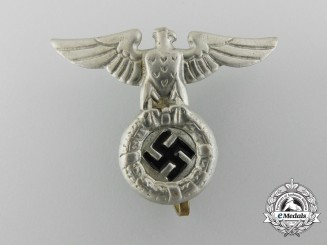 An NSDAP/SS Cap Eagle, Early Pattern (1934)