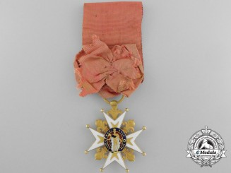 An Order of Saint Louis; Knight of the Second Restoration Period (1815-1819)