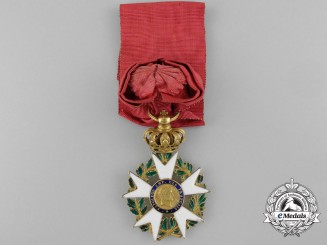 A French Legion D'Honneur; Officer in Gold; First Empire 1806-1808