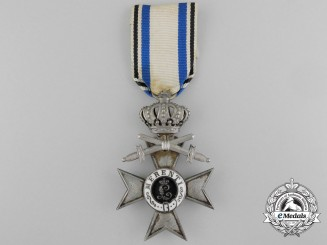 A Bavarian Military Merit Cross Second Class with Crown & Swords