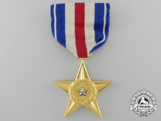 An American Silver Star to 15th Air Force for Gallantry in the Mediterranean Theatre