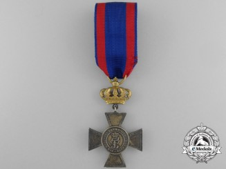 An Oldenburg Merit Cross First Class with Golden Crown; Only 239 Awarded