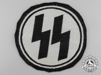 A Waffen-SS Sport Shirt Insignia; RZM Tagged