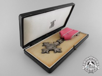 A Most Excellent Order of the British Empire; MBE with Case & Box