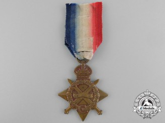 A First War 1914-15 Star to Private E. Baldwin of the King's Own Scottish Borderer's