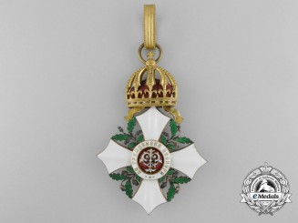 A Bulgarian Order of Civil Merit,; Grand Cross 1st Class with Princely Crown (1891-1908)
