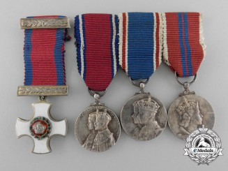 A Set of Four British Miniature Medals & Orders