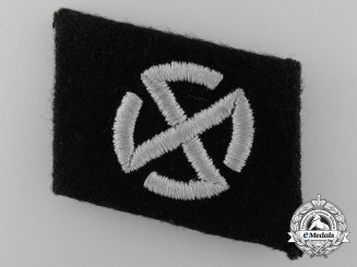 A Collar Tab of the 11th. Panzer Grenadier Division Nordland