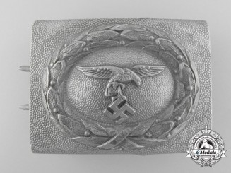 A First Pattern Luftwaffe Enlisted/NCO Belt Buckle; Published by John Angolia