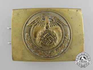 A SA Enlisted Man's Belt Buckle; Published by John Angolia