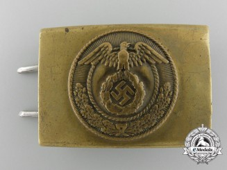 A NSDAP Youth Belt Buckle; Published by John Angolia