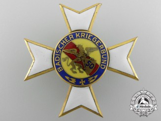 A Baden Veteran's Association Badge for 50 Years Service