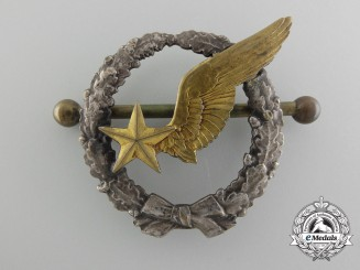 A First War French Military Air Observer's Badge
