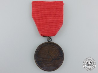 A Brazilian Medal for Humanity; Bronze Grade