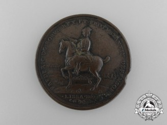 A Frederick the Great Battle of Rosbach and Lissa Commemorative Medallion