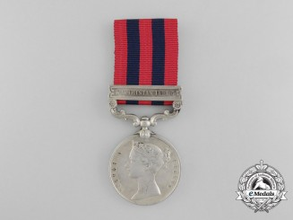 An India General Service Medal to a Hospital Assistant