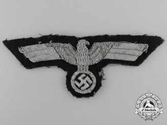 A Wehrmacht (Heer) Officer Tunic Removed Breast Eagle