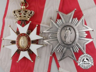 A Tuscan Order of Saint Joseph by Rothe; Grand Cross, c.1900