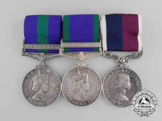 A Royal Air Force Long Service Medal Grouping to Sgt. Lutton