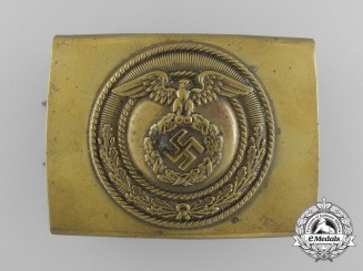 A SA Enlisted Man's Belt Buckle; Published Example