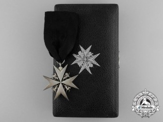 An Order of St. John; Esquire of St. John with Case