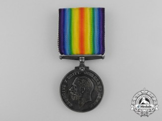 A First War Medal to the 58th Canadian Infantry