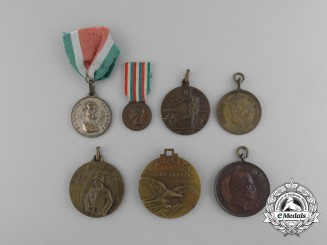 A Lot of Seven First War Italian Medals and Awards