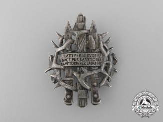 An Italian East Africa Campaign 201st Battalion Voluntary Militia for National Security Badge