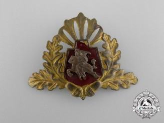 A 1930's Lithuanian Officer's Cap Badge