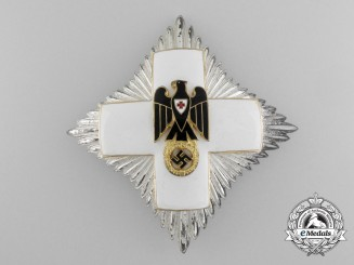 A German Red Cross Honor Badge 3rd Model (1937-1939);  Breast Star by Godet