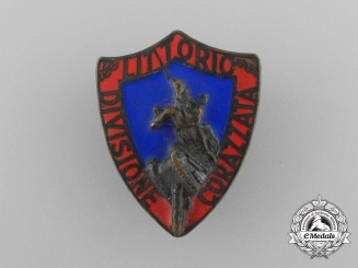 A Second War Italian Armored Division Unit Badge