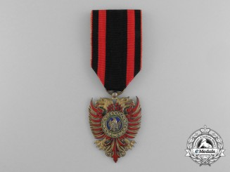 An Albanian Order of the Black Eagle; Knight by Gardino