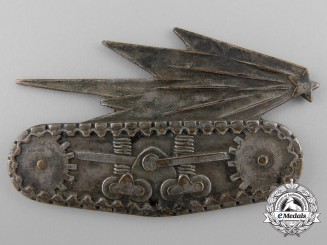 A Second War French Division Blindee Tank Unit Badge