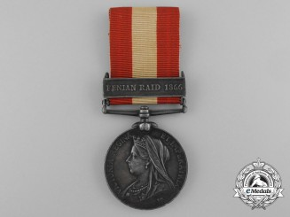 A Canada General Service Medal to the New Brunswick Garrison Artillery