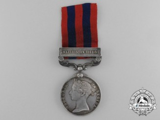 An India General Service Medal 1854-1895 to the 2nd Battalion; Border Regiment