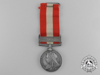 A Canada General Service Medal to the 5th (Royal Light Infantry) Battalion