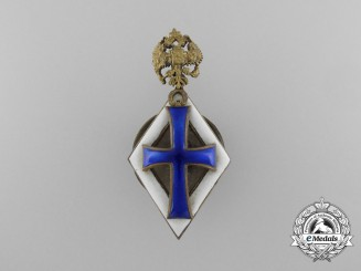 A Russian Imperial Badge for Bachelor Degree Graduates of Universities