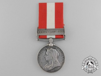A Canada General Service Medal 1866-1970 to the  Bradford Infantry Company
