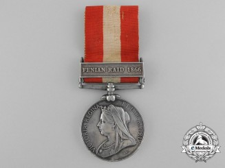 A Canada General Service Medal 1866-1870 to the Cookstown Rifle Company