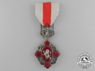 An Order of the Belgian Red Cross; Second Class