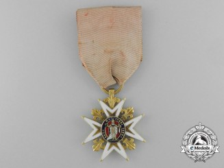 An Order of Saint Louis; Knight in Gold