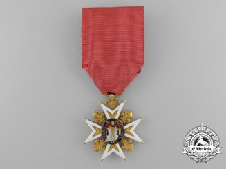 An Order of Saint Louis in Gold; Knight of the Second Restoration Period (c.1815-1819)