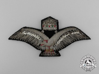 A Second War Hungarian Period Pilot's Wing