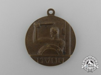 An Italian Voluntary Militia for National Security Medal