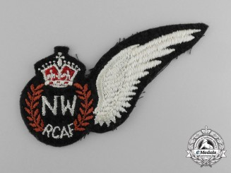 A Scarce Royal Canadian Air Force (RCAF) Navigator Wireless Wing 1944