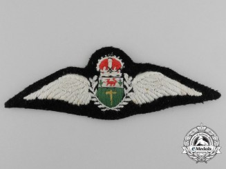 A Southern Rhodesian Air Force (1934-1945) 1938 Officer's Pilot Wing