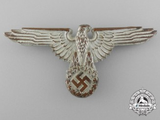 "An SS Visor Cap Eagle by ""SS RZM 155/36"""