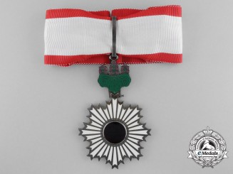 A Japanese Order of the Rising Sun; Third Class Commander's neck Badge