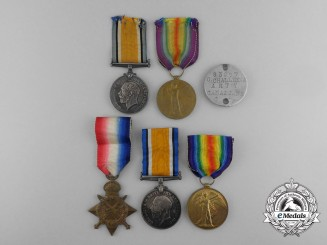 A First War Group to Canadian Brothers; KIA on the Somme & WIA 1918